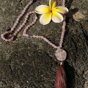 Jewelry - Traditional Mala Prayer Bead Necklace